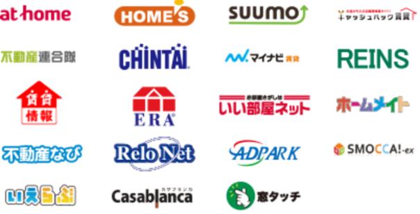不動産ポータルサイトのロゴ