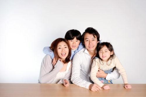 家族4人の例