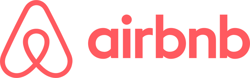 airbnbのロゴ写真