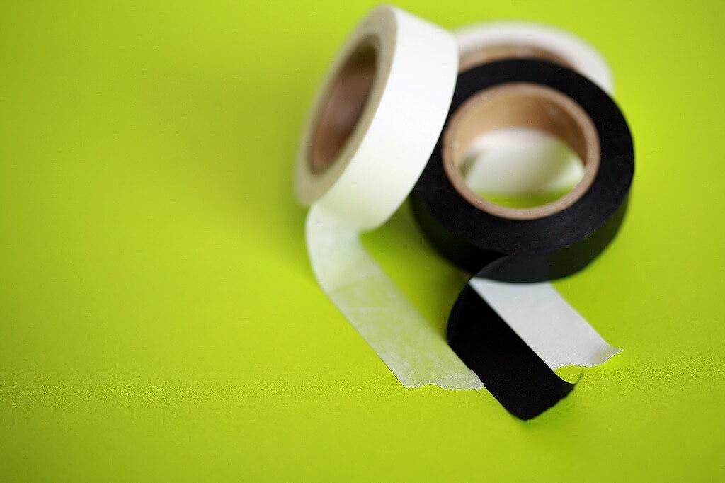 下地のテープの劣化ーマスキングテープ