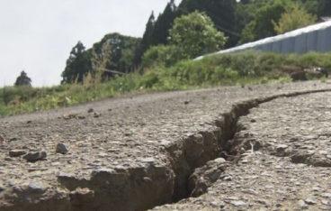 地震災害の写真
