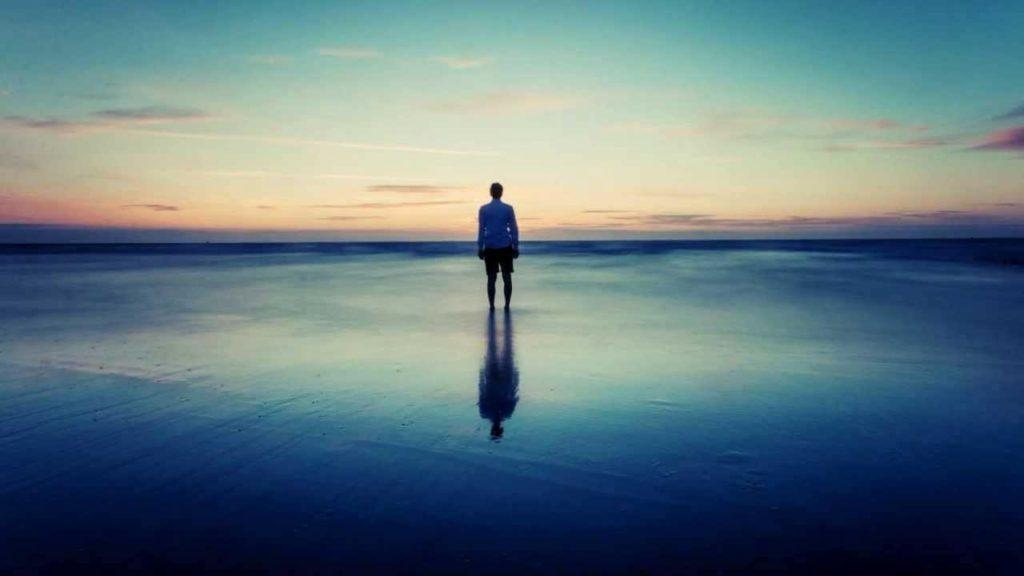 孤独をイメージする写真