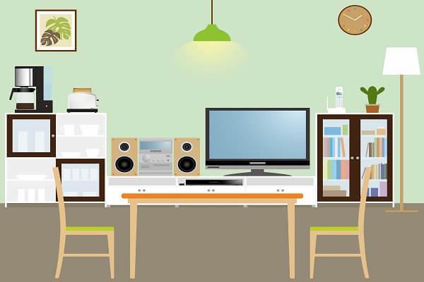 家具家電を表す写真