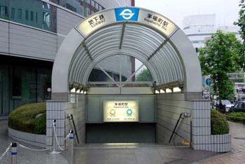 茅場町駅の写真