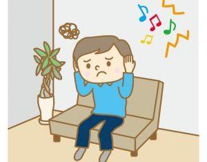 騒音に悩まされる人