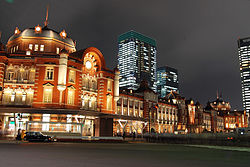 東京駅周辺の写真