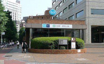 新御茶ノ水駅の出口の写真