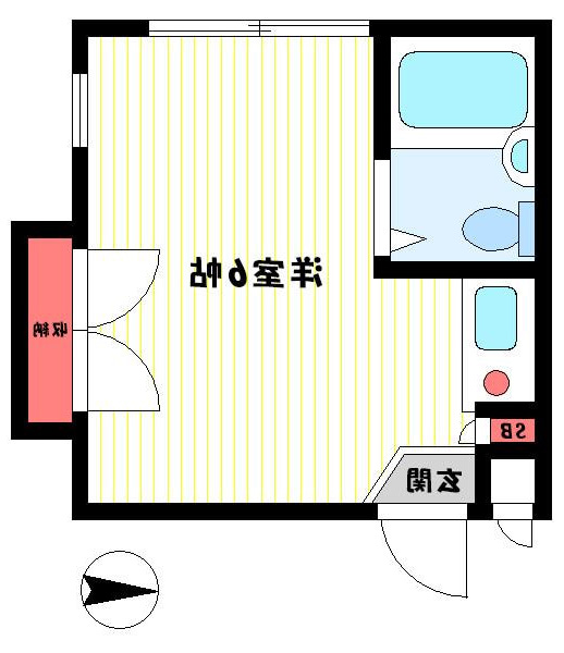 室内写真③【初期費用10万以下】高田馬場駅まで直通16分!賃料40000円!