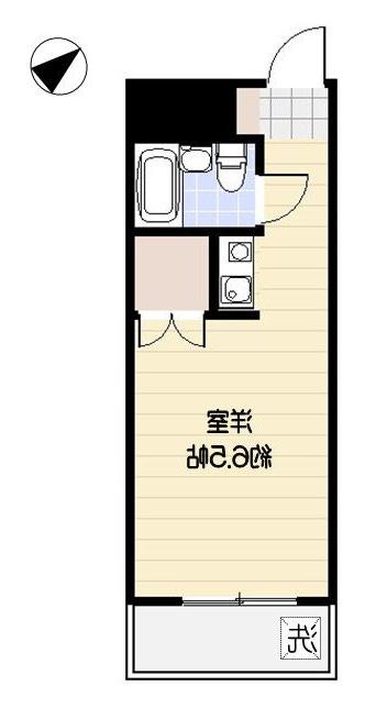 室内写真③【初期費用10万以下】新宿直通30分・ネット無料でこの安さ!賃料30000円!