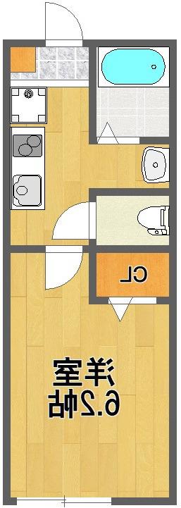 室内写真⑨【初期費用10万以下】東京37分!新築BT別ネット無料物件♪賃料57000円!