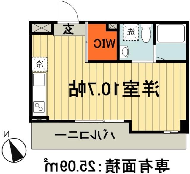 室内写真⑨【初期費用10万以下】東京40分!千葉駅10帖オートロック高層マンション♪賃料65000円!