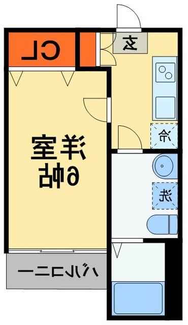 室内写真⑨【初期費用10万以下】東京38分!築浅BT別で宅配BOX付き物件♪賃料56000円!