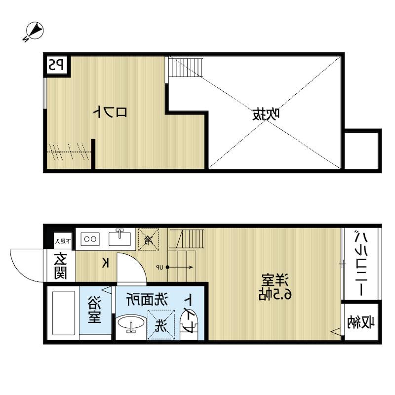 室内写真⑨【初期費用10万以下】東京34分!ネット無料築浅BT別アパート♪賃料58000円!