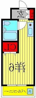 室内写真⑨【初期費用10万以下】上野35分!駅近オートロック付き激安マンション♪賃料28000円!