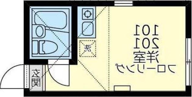 室内写真⑨【初期費用10万以下】渋谷・表参道30分以内!築浅レンガ調の家電付♪賃料53000円!