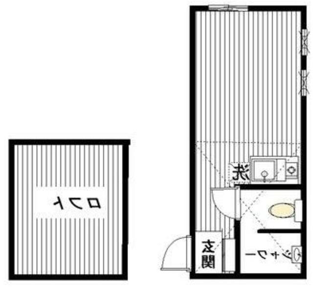 室内写真⑨【初期費用10万以下】品川18分・渋谷27!新築家電付かわいいレンガ調♪賃料54000円!