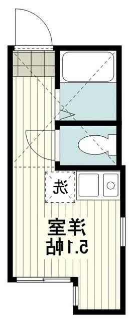 室内写真⑨【初期費用10万以下】渋谷28分!築浅家電付きBT別物件♪賃料58000円!