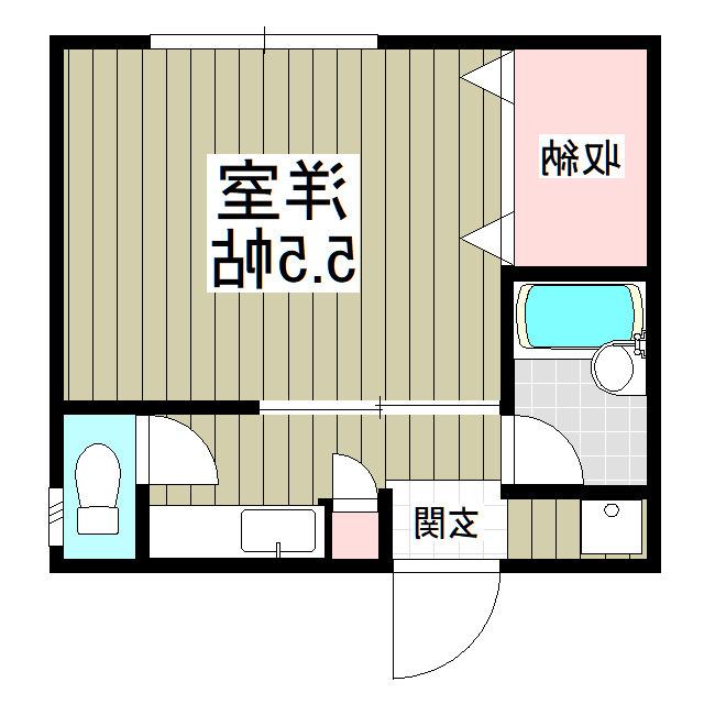 室内写真⑨【初期費用10万以下】渋谷30分!駅近&格安アパート♪賃料50000円!