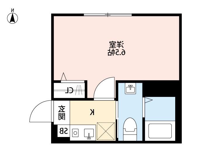 室内写真⑨【初期費用10万以下】渋谷直通19分!オートロック付きデザイナーズ♪賃料74000円!