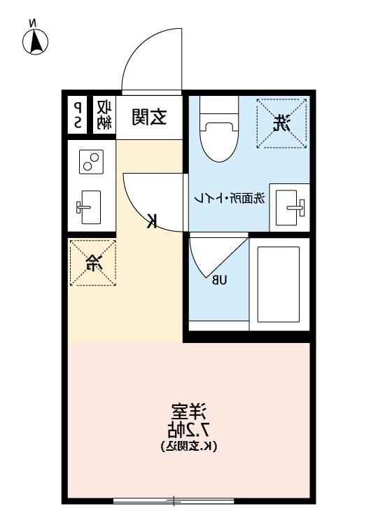 室内写真⑤【初期費用10万以下】池袋直通20分!築浅でキレイでネット無料♪賃料54000円!