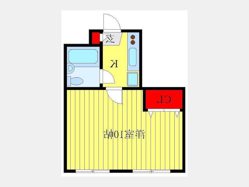 室内写真⑥【初期費用10万以下】池袋/新宿/渋谷が30分以内リフォーム済物件!賃料62000円!