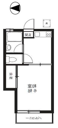 室内写真⑧【初期費用10万以下】新宿22分!駅から10分激安物件♪賃料40000円!