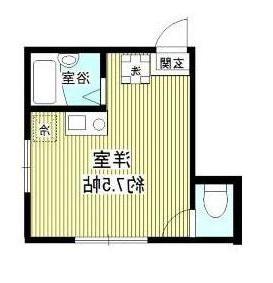 室内写真⑨【初期費用10万以下】新宿直通15分!ネット無料の新築物件♪賃料62000円!