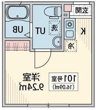 室内写真⑨【初期費用10万以下】上野15分!ネット無料・新築・オートロック♪賃料62000円!