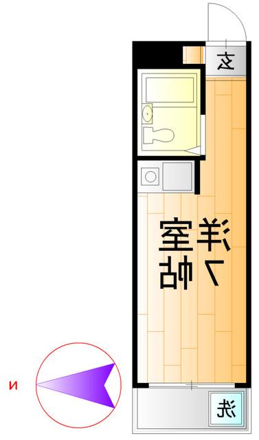 室内写真⑨【初期費用10万以下】新宿10分!駅近・リフォーム済物件♪賃料47000円!