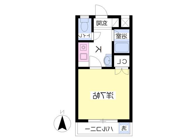 室内写真⑨【初期費用10万以下】新宿・渋谷20分以内!ネット無料バイク置き場有り♪賃料57000円!