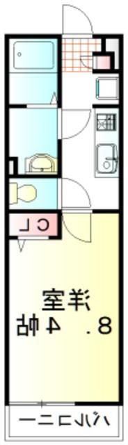 室内写真⑨【初期費用10万以下】池袋直通31分!安心セキュリティの築浅物件♪賃料53000円!