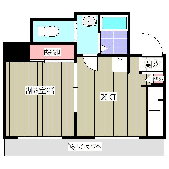 室内写真⑨【初期費用10万以下】池袋30分!使い勝手◎1DKタイプのマンション♪賃料50000円!